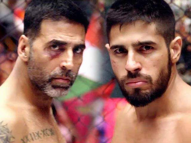 Akshay and Sidharth in 'Brothers'