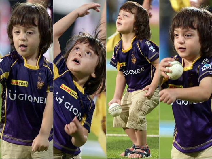 abram khan playing at the field